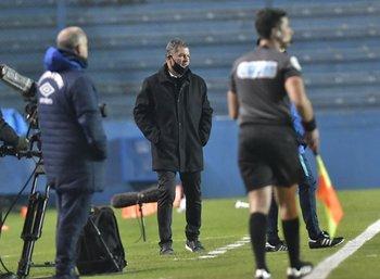 Claudio Biaggio, su equipo dejó buena sensación