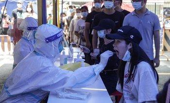 Hisopados masivos en Guangzhou