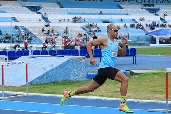 Andrés Silva fue bronce en el Sudamericano de Atletismo de Guayaquil