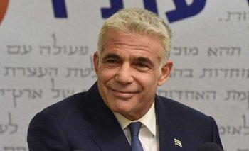 Yair Lapid es el líder de la oposición en Israel y se define como un político de centro