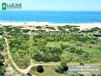 Terreno en Punta Rubia.