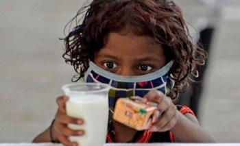 Los niños se han visto gravemente afectados por la segunda ola de coronavirus en India