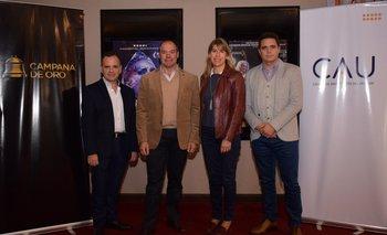 Horacio urrutia, Nelson Loira, Lucia Barbosa e Ignacio Rossi