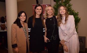 Valeria Micucci, Daniela Abasolo, Fernanda Sinopoli y Paula Lamarque