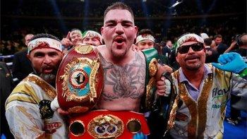 Andy Ruiz Jr. se coronó en Nueva York tras vencer vía KO técnico al británico Anthony Joshua