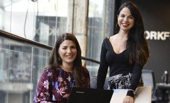 Isabela De Cola y Victoria Ortiz