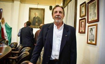 Julio Armand Ugón, presidente de la Federación Rural.