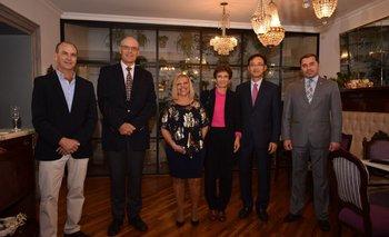 Diego Stewart, Martin Strub, Ana Rey, Galit Ronen, Sungyoun Hwang y Miguel Angel Cabrera