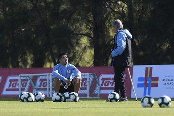 Suárez y Tabárez preparan la Copa América 2021