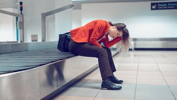 Ese momento angustioso en el aeropuerto cuando te das cuenta de que tu maleta ha desaparecido ...