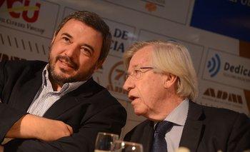 Mario Bergara y Danilo Astori