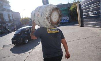 Distribución de garrafas en Montevideo.