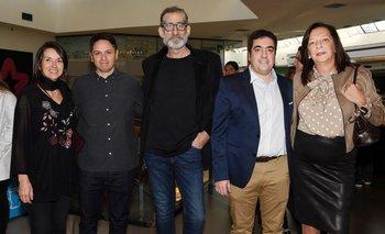 Silvana Saavedra, Ricardo Aros (Chile), Claudio Invernizzi, Marcelo Debernardi y Patricia Lussich