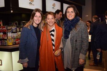 Stefania Mitropulos, Mariana Picasso y Macarena Zito