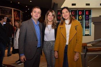 Antonio Oliva, Alejandra Vaghi y Magdalena Miller