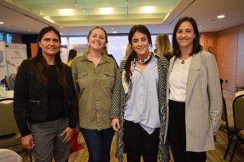 Ana Laura Costa, Rosina Mastandrea, Paula González y Sofia Alonso