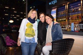 Natalia García, Eva Fernández y Esther Muñoz