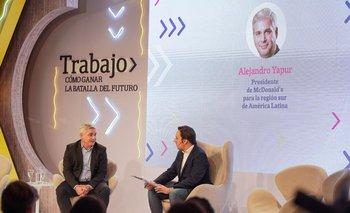 Alejandro Yapur y José del Río (La Nación)