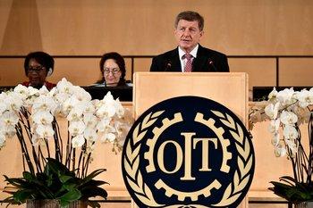 El director general de la OIT, Guy Ryder