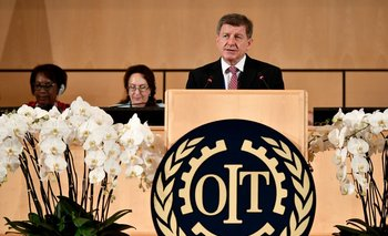 El director general de la OIT, Guy Ryder