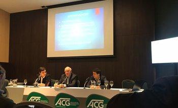 Juan Dellapiazza, Víctor Tonelli y Michel Decker