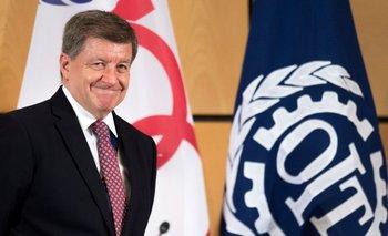 El director de la Organización Internacional del Trabajo (OIT), Guy Ryder.