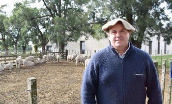 Rodrigo Granja, presidente de la Sociedad de Criadores de Corriedale del Uruguay