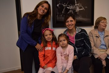 Veronica Cobas, Manuela Riccardi, Paulina Ferres y Cecilia Álvarez