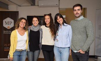 Amorina Baggi, María Noel Riccetto, Fabi Foo, Bethania Morisio y Juan Manuel Parodi