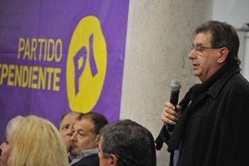 El diputado del Partido Independiente Iván Posada