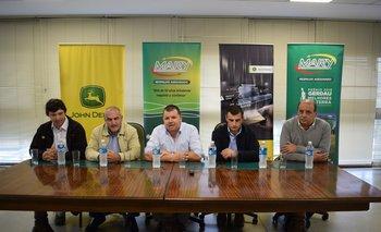 Ignacio Mattos, Luis Aberastegui, Álvaro Venturini, Gustavo Aberastegui y Carlos Maiorano.