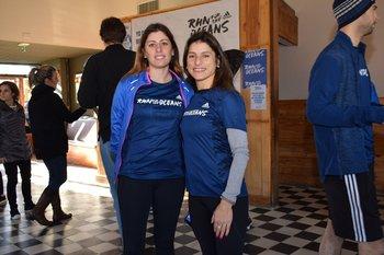 Eliana Bentancur y Mariana Abella
