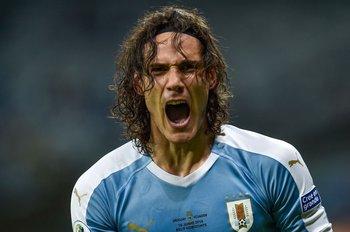 Cavani, marcó su primer gol en la Copa América
