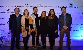 Pablo Lecueder, Carolina de León, Pablo Giménez, Lucia Mattos, Gabriela Mollá y Rodrigo Ferreiro