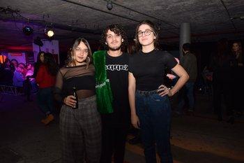 Natalia García, Adrian Cano y Sara Rodríguez