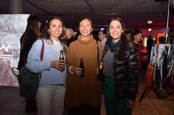Agostina Cavallo, Natalia López y Natalia Cornara