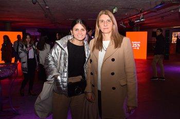Carolina Abella y Silvia Farachio