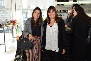 Valentina Moré y Cristina Fernández