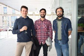 Guilermo Ameixeiras, Alberto Fernández y Guillermo Kloetzer