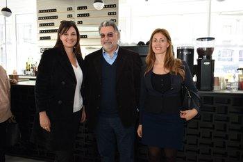 Janice Castro, Alberto Latarowski y Diana Dalchiele