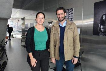 Karina Fortete y Cristian Pos