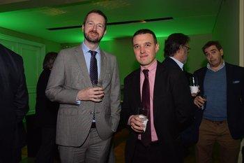 Rossa Commane y Nelson Simatovich