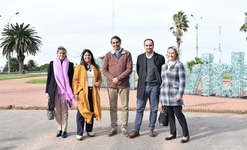 Laura Kotsachis, Fernanda Brugnini, Andres Abt, Juan Carlos Raffo y Bibiana Gandara