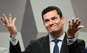 Ministro de Justicia y juez del caso Lava Jato, Sergio Moro.