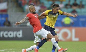 Ecuador y Chile juegan un partido que promete mucho
