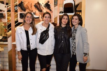 Aileen Goldstein, Florencia Chiesa, Nicole Tavidian y Sofia Oldan