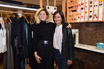 Clara Aguayo y Fernanda Ferreira