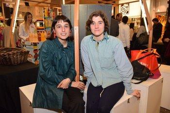 Florencia Gómez de Salazar y Denise Rozza