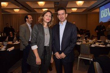 Barbara Musso y Carlos Alonso