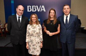 Javier de Haedo, Carolina Gianola, Tamara Schandy y Gabriel Oddone.